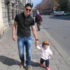 James Rodriguez y Salome Padre e hija