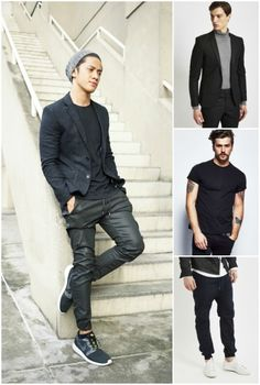 Blazer with joggers how to wear joggers