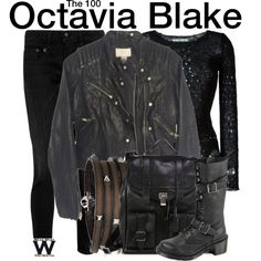 Inspired by Marie Avergopoulos as Octavia Blake on The 100