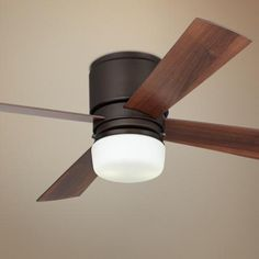 "52"" Casa Concourse™ Bronze Hugger Ceiling Fan"