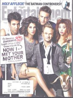 How I Met Your Mother Entertainment Weekly Neil Patrick Harris Jason Segal 9/6