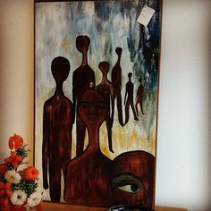 """Signed Oil on Board (47"""" x 29"""") $45 #mercantile_m #andersonville"""