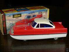 SCHUCO 5560 ELECTRO-AMPHIBICO Car/Boat Vintage Collector Toy. RARE! | eBay