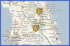 awesome Orlando Metro Map