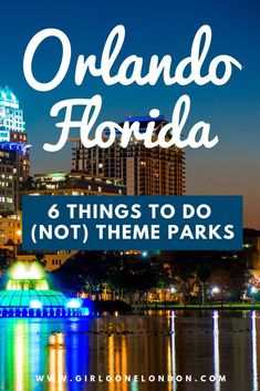 There is so much to do in Orlando that isn't a theme park - you might be surprised if all you've ever heard about Orlando is Disney World. Check out this guide to things to do in Orlando that aren't theme parks, including natural activities, lovely beache Visit Orlando, Orlando Travel, Orlando Vacation, Florida Vacation, Florida Travel, Florida Beaches, Vacation Spots, Universal Orlando, Orlando Magic