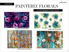 patternbank painterly florals - Google Search