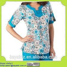 Resultado de imagen para uniforme de medico modernos Ankara Jackets, Scrubs, Lily Pulitzer, Tunic Tops, Blouse, Dresses, Nurses, Women, Crafts