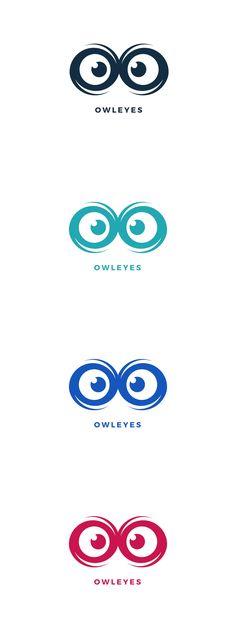 Owl Eyes Logo Template AI, EPS