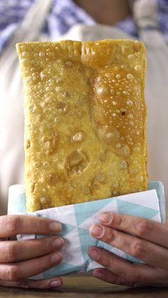 This crisp, deep-fried pastry stuffed with savory beef is a favorite at Brazilian street fairs.