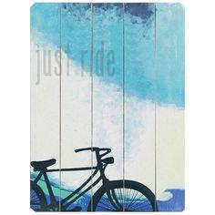 Just Ride Wall Art