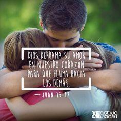 Juan 15:12 Este es mi mandamiento: Que os améis unos a otros, como yo os he amado.♔