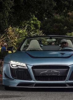 ♂ Luxury car #wheels #vehicle Audi R8 neutral blue