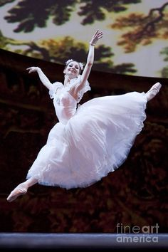 Russian ballerina Evgenia Obraztsova.