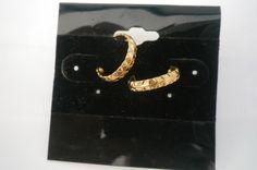 Petite Gold Hoop Earrings, Earrings, Hypoallergenic, Post, Stud Earrings by NAESCUSTOMCLOTHING on Etsy