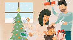 The first holiday season after separation / divorce can be riddled with grief ... here are some tips to help.
