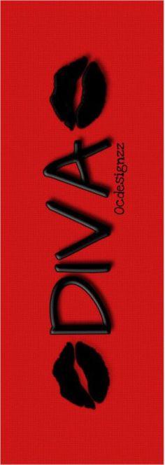 Divalicious Diva Lips Yoga Mat  Ocdesignzz