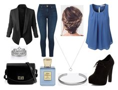 """""""#298"""" by glitterunicorns-are-awesome ❤ liked on Polyvore featuring New Look, LE3NO, J Brand, Maison Margiela and Bella Bellissima"""