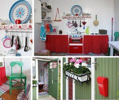 Ideas for the interior of their playhouse
