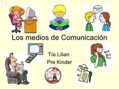 Los medios de comunicación by Lilian via slideshare