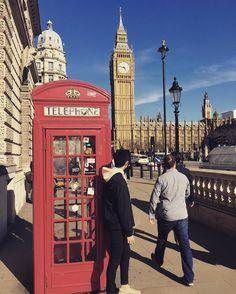 A typical tourist in London. - - - - - 典型的な所で撮った慣れてしまった - #london #uk #bigben #ロンドン #イギリス #加須 by yu_saito_