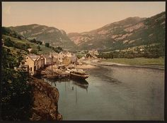 [Eide Hardanger from the south, Hardanger Fjord, Norway]      Repository: Library of Congress Prints and Photographs Division Washington, D.C. 20540 USA http://hdl.loc.gov/loc.pnp/pp.print