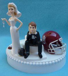 Wedding+Cake+Topper+University+of+Oklahoma+Sooners+OU+by+WedSet,+$59.99