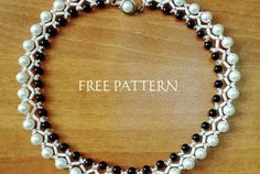 Free pattern for necklace Islandia