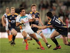 The Brumbies play host to the Sharks in the Super Rugby on Saturday with the hosts looking to keep pace with the leaders.