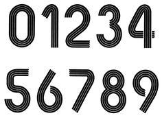 70's font