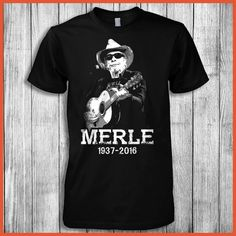 Merle Haggard 1937-2016! Click The Image To Buy It Now.