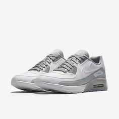 Cheap Nike Air Max 90 Ultra 2 Si White Wolf Grey Reflect Silver Sale Silver Trainers, Nike Air Max Trainers, Cheap Nike Air Max, White Wolf, Air Max 90, Nike Free, Kicks, Mens Fashion, Grey