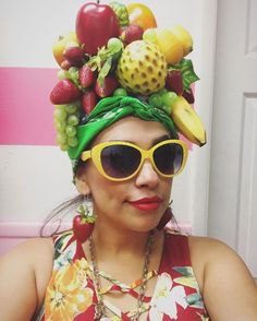Crafted Chiquita Banana Party Hat with Costume
