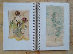 RUBY SILVIOUS : Teabag Art