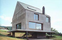 Rudin House.1997. Herzog & de Meuron. Leymen, France