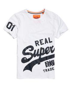 Superdry - T-shirt à marquage enveloppant Vintage Logo - T-shirts pour Homme