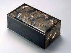 松田権六《蒔絵箱「赤とんぼ」》1969年京都国立近代美術館