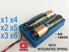 18650 Battery, Integrity, 3d Printer, Boys Kurta, Spring, Easy, Learning, Design, Data Integrity