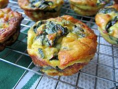 Stacey Snacks: Mini Swiss Chard Quiches