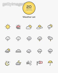 iPhone Weather Symbols Meaning Weather Weather icons