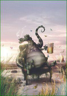 + Ilustração :     Bom dia!!  Começar o dia com a inspiração nos trabalhos de Charlie Valderrama (ou El Mono Autista).