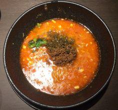 汁有り担担麺/想吃担担面