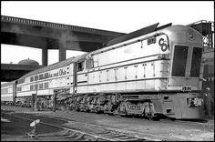 C Baldwin Steam Turbine locomotive