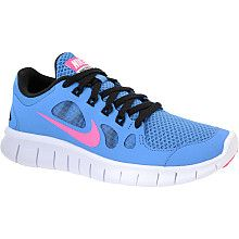 AWESOME Color !!! Love these! NIKE Girls' Free 5.0 Running Shoes