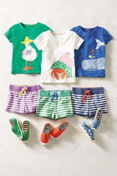 Cute and quirky appliqués on pure cotton t-shirts that add a bit of fun to every day.