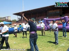 Department of Agriculture Corporate Fun Day team building event at the Pretoria Show Grounds in Gauteng. Team Building Events, Team Building Activities, Team Building Exercises, Pretoria, Agriculture, Dolores Park, Day, Travel, Viajes