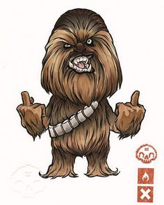 Chewbacca by Clog Two
