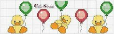 Patos con globos