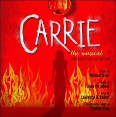Carrie the Musical. Can't wait to see Cassidy in her next big show Broadway Theatre, Musical Theatre, Broadway Shows, Broadway Plays, Carrie The Musical, Michael In The Bathroom, Modern Feminism, Carrie White, Originals Cast