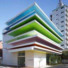 Une banque à #Tokyo #architecture #insolite et design