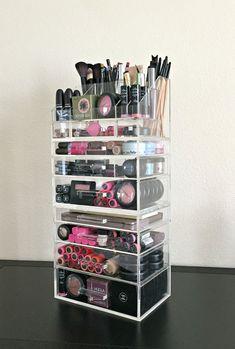 Organizador 7 cajón de acrílico del maquillaje por MakeupOrganizer